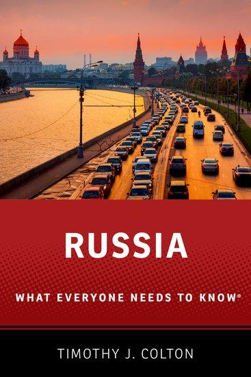 Image of book cover Russia: What Everyone Needs to Know