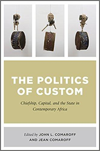 Image of book cover of The Politics of Custom