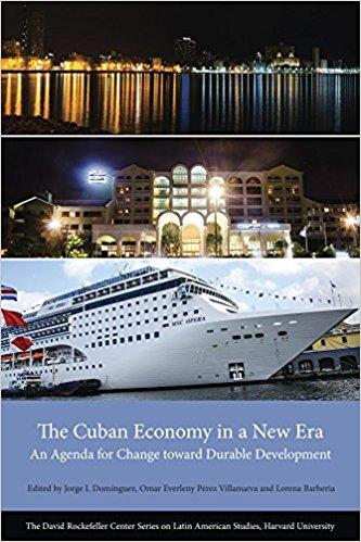 Image of book cover of The Cuban Economy
