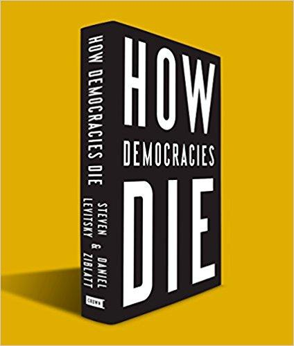 Image of book cover of How Democracies Die
