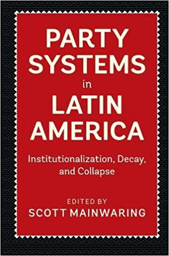 Image of book cover of Party Systems in Latin America
