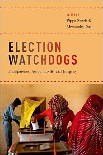 image of Election Watchdogs book cover