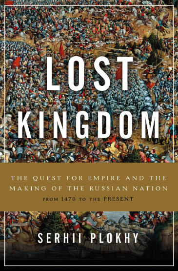 image of Lost Kingdom book cover