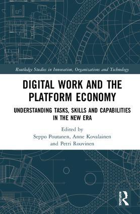 Image of book cover for Digital Work and the Platform Economy