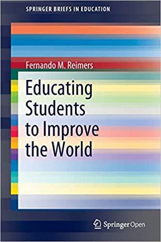 Image of book cover for Educating Students to Improve the World