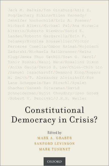 book cover for Constitutional Democracy in Crisis?