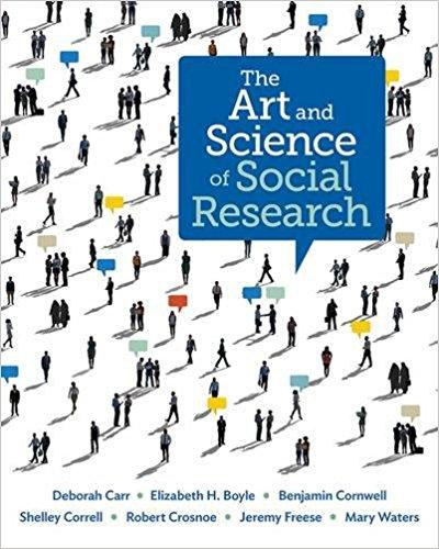 image of The Art and Science of Social Research book cover