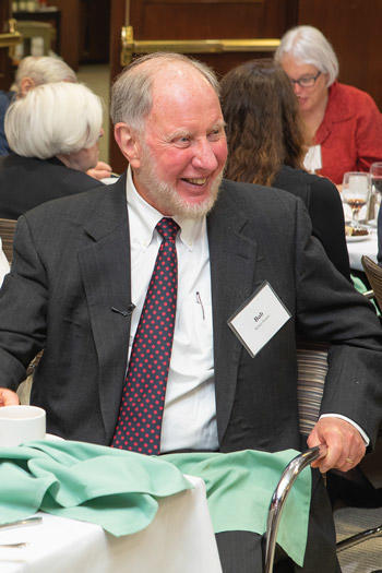 Image of Robert Putnam at retirement event