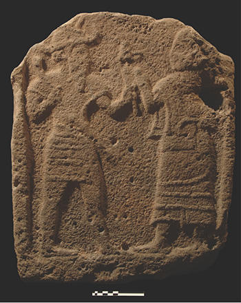 The Old-Syrian stela found in temple M