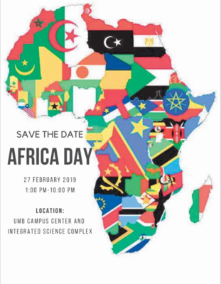 Umass Africa Day Poster