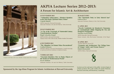 2012-2013 Lecture Poster