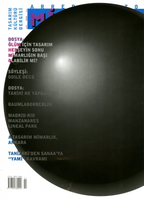 Cover of the magazine Arredamento Architecture