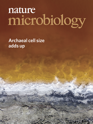 Nature Microbiology Cover