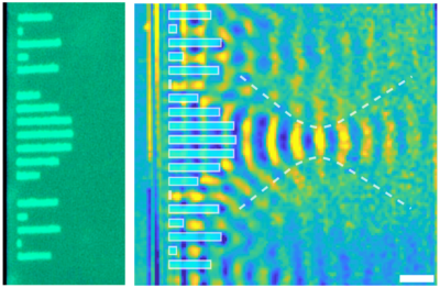 Phase change polariton
