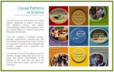 Casual Patterns in Science