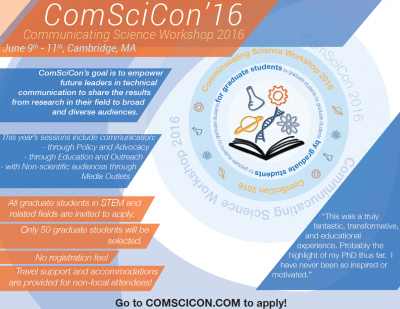 ComSciCon16 Flyer #2