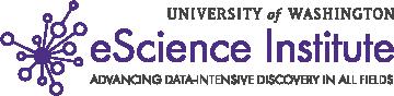 UW eScience logo