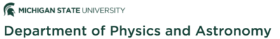 Michigan State Physics & Astronomy