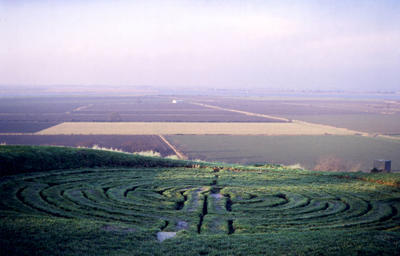 alkborough maze