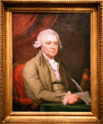 Portrait of John Adams by Mather Brown, 1788