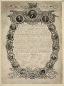 Binns, Declaration of Independence