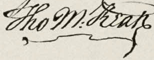 Thomas McKean's Signature