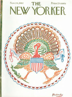 Cover illustration by Anatole Kovarsky, The New Yorker