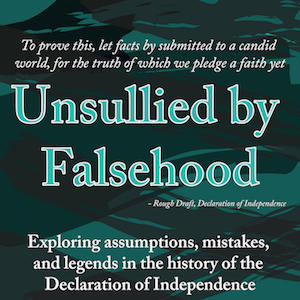 Unsullied by Falsehood Logo