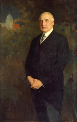 Official Portrait of President Warren G. Harding