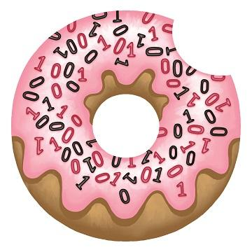 data and donuts logo