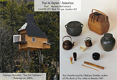 course poster for eas 152 - a treehouse and vintage japanese tea making supplies