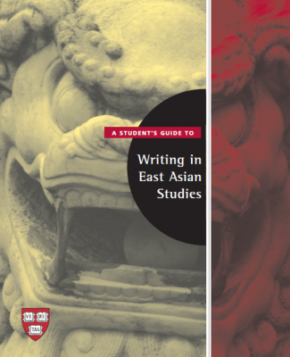 A Student's Guide to Writing in East Asian Studies