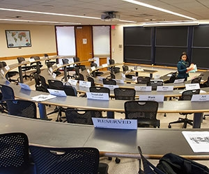 EPoD Executive Education Classroom, HKS