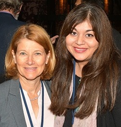 Patricia D'Amore, PhD, MBA, FARVO and Neena Haider, PhD