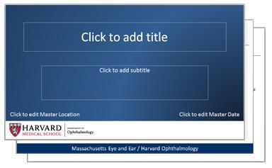 presentation templates harvard medical school department of