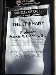 Mem Church Poster for FX Clooney