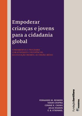 Empowering Global Citizens book cover in Portuguese