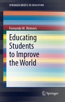 cover image rainbow swirl for book: Educating Students to Improve the World-