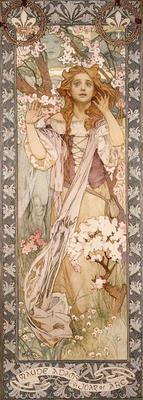 Alphonse Mucha: Maude Adams as Joan of Arc