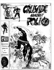Comic Book, Crusade Against Polio, Front Cover