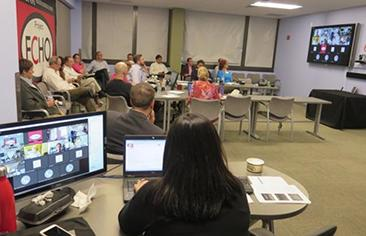 TeleECHO Clinic - hub and spoke