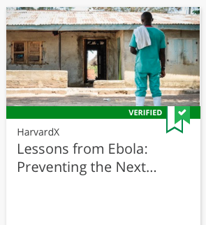 Lessons from Ebola course tile
