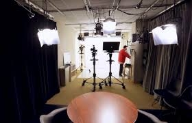 Interior of the HX studio