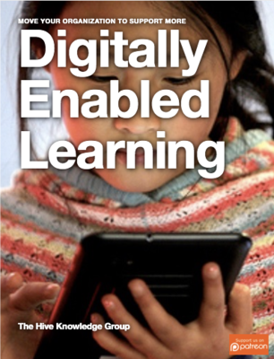 Cover of Digitally Enabled Learning handbook