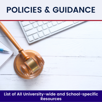 Click to see Policies and Guidance