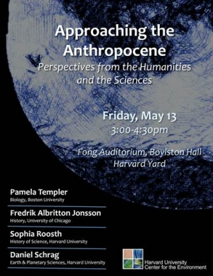 Approaching the Anthropocene
