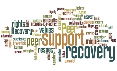 Peer Counseling Wordle