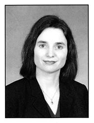 Elizabeth Papp Kamali, HLS yearbook headshot 2007
