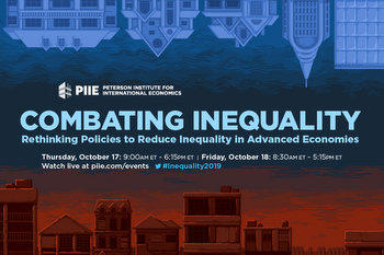 Combating Inequality PIIE conference