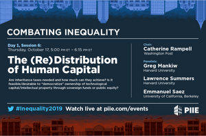 Combating Inequality conference 1